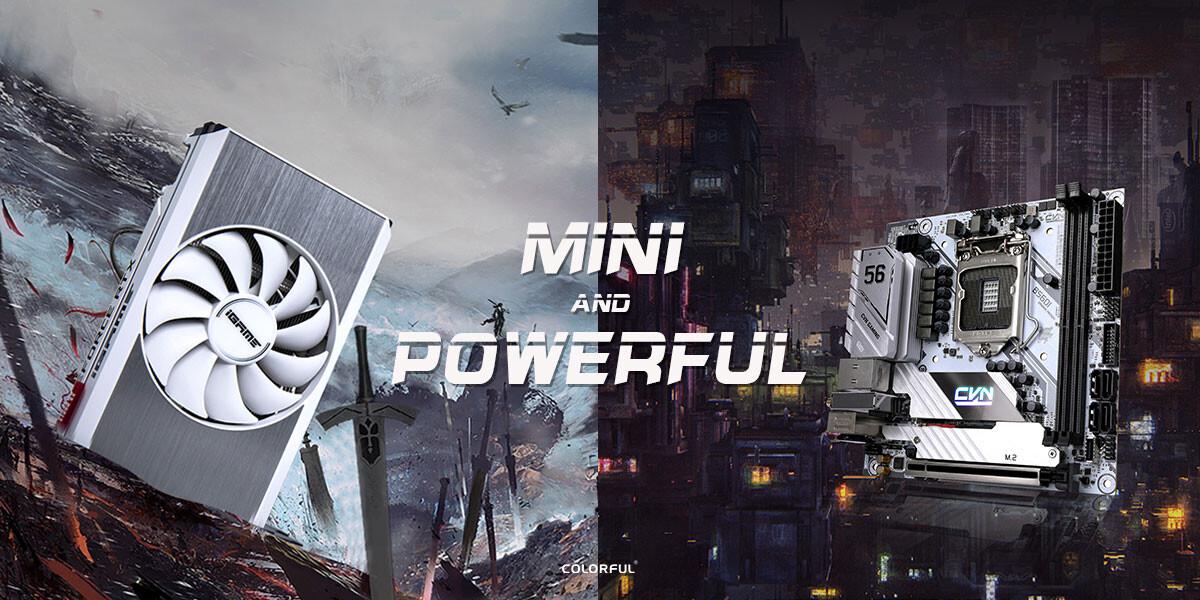 RENKLİ'dan B560 CVN Mini-ITX mobo + RTX 3060 iGame Mini